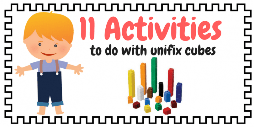 11 Math Activities You Can Do With Unifix Cubes Free