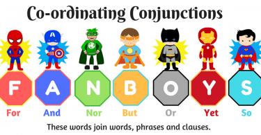 Coordinating conjuctions
