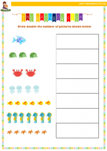 the rainbow fish maths and english activities for reception children the mum educates. Black Bedroom Furniture Sets. Home Design Ideas