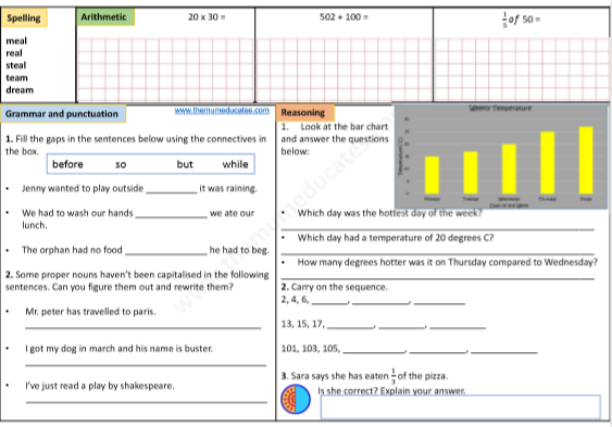 Year 3 Free Worksheets The Mum Educates. Download Day 3 Year Free Worksheets. Worksheet. Year 3 Sequences Worksheet At Clickcart.co