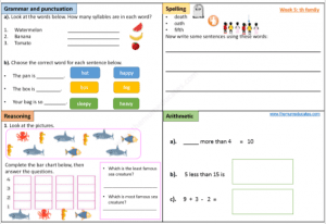 Year 1 Download free worksheet