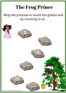 The Frog Prince (FREEBIES Literacy and Math worksheets)