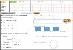 Year 3 Free worksheets daily