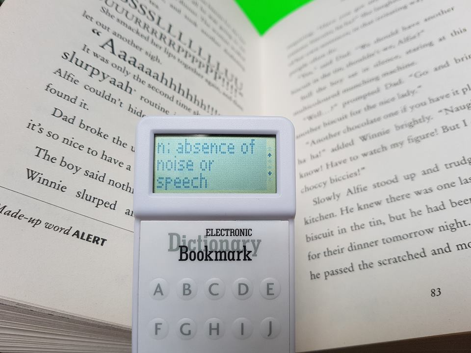 Electronic Bookmark Dictionary Review