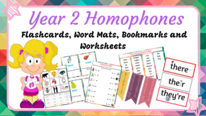 Year 2 Homophones Bundle