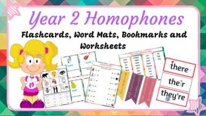 Year 2 Homophones Bundle