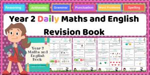 Year 2 Maths and English Book