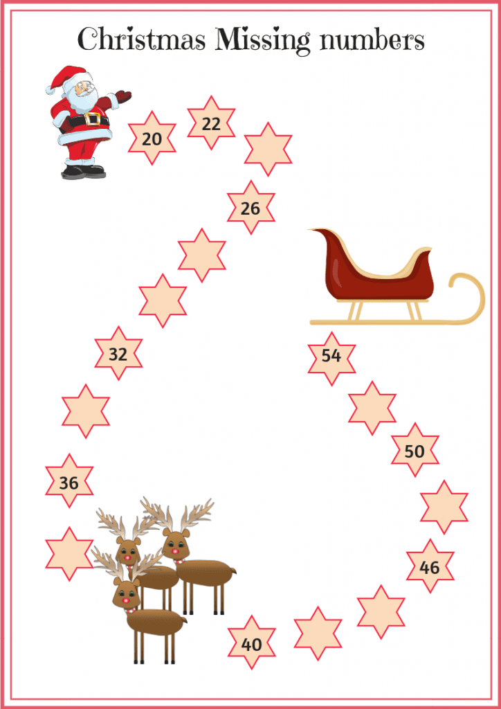Year 2 Christmas Themed Maths Worksheets - The Mum Educates