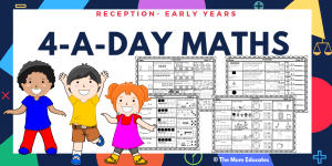 4-A-Day Maths Book Reception - Early Years