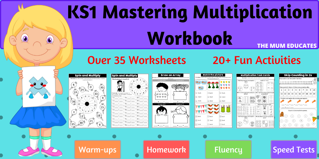 KS1 Mastering Multiplication book