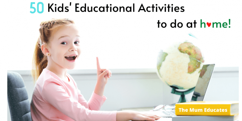 kids educational activities