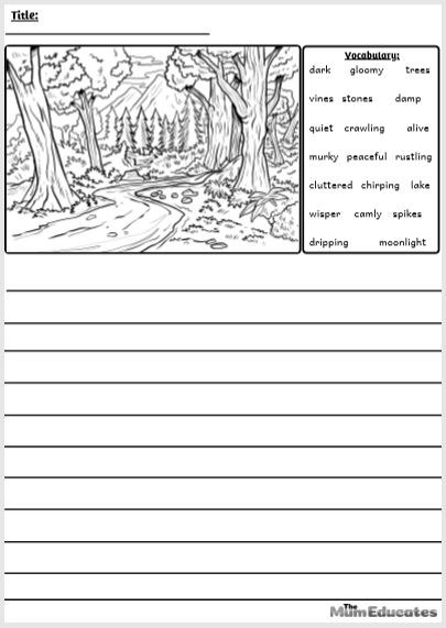 Forest Writing Prompt