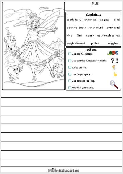 Fairy Writing Prompt