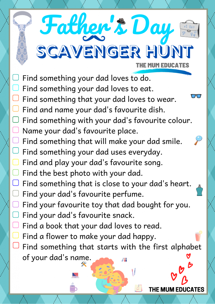 Father's Day Scavenger Hunt