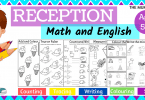 Reception Worksheets