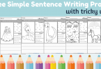 sentence writing prompt