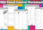 Pencil Control worksheet