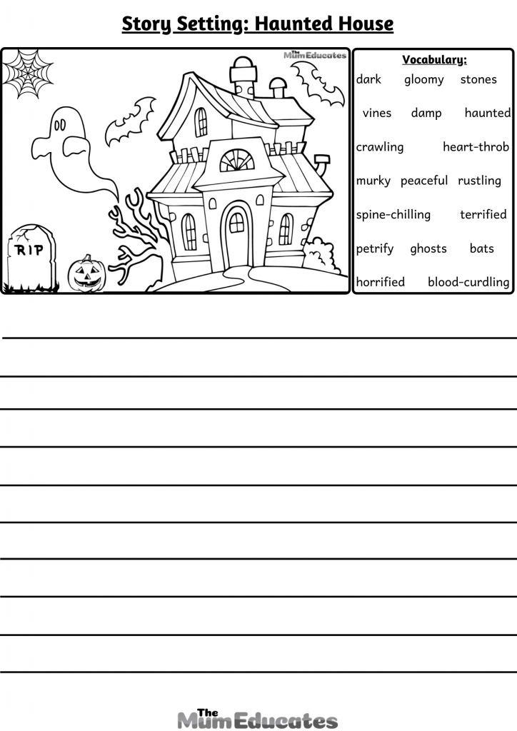 story settings Haunted house