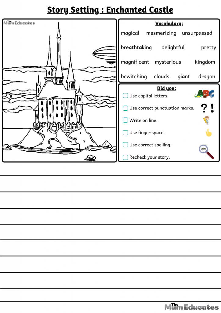 story settings Enchanted castle