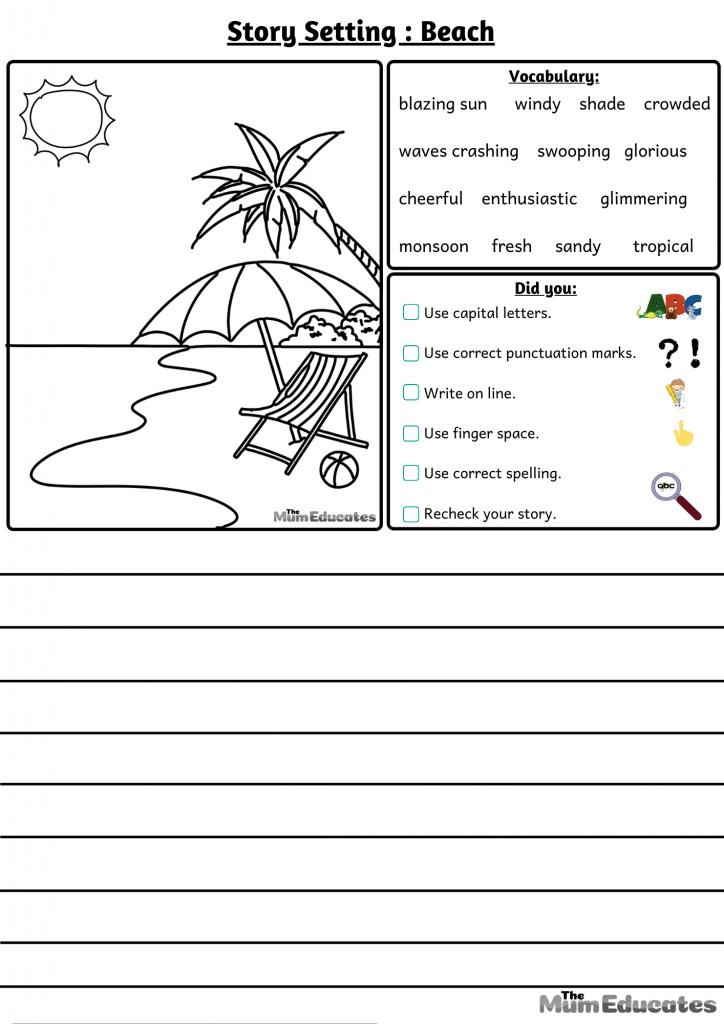 story settings beach