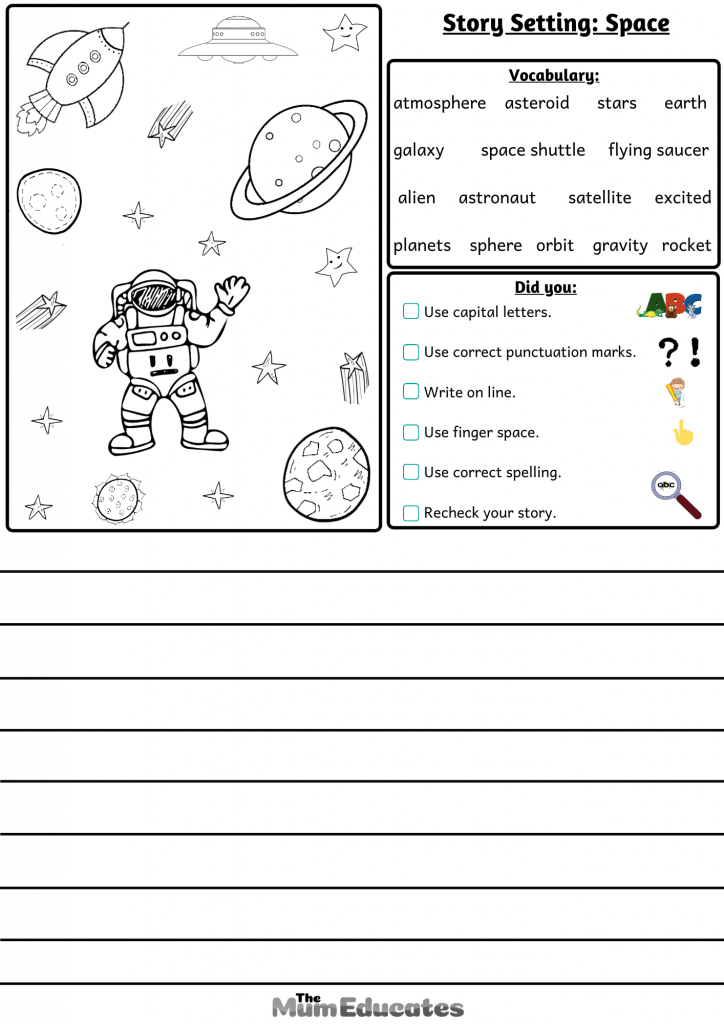 story settings Space
