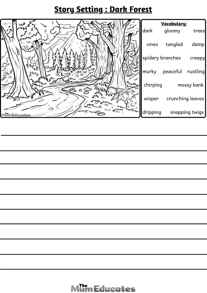 creative writing forest