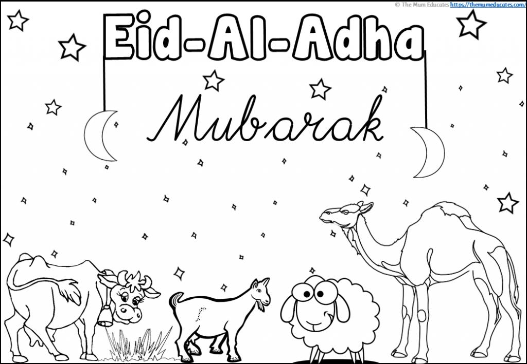 Eid Al Adha Colouring