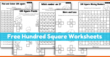 Hundred Number Square